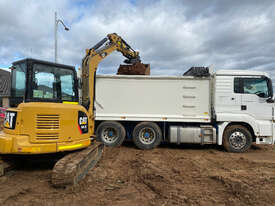 Tipper Truck Bogie with Large 18m3 Bin for Soil Clay Rock Concrete Removal  - picture0' - Click to enlarge