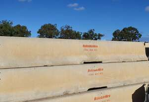 6m JJ Hook Concrete Safety Barrier