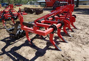 2020 MINOS CZ-11-M CHISEL PLOUGH + PACKER ROLLER (11 TINE, 3.1M)