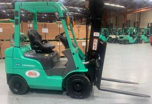 Late model used Mitsubishi FG18 Forklift for sale