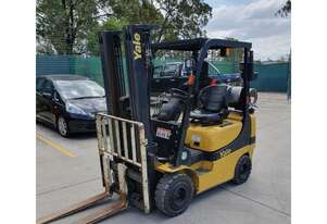 Yale GLP20AK 2Ton Container Entry (Lift 4.84m) Petrol / LPG Forklift