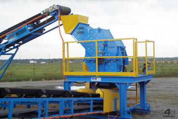 Impact Crusher Plant - Crusher and Conveyors