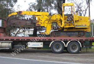 Vermeer T455 side shift trencher