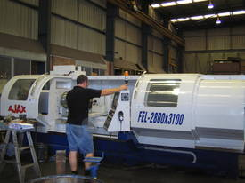 New Ajax 610mm, 720mm & 800mm Flat Bed CNC Lathes    - picture0' - Click to enlarge