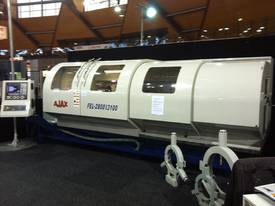 New Ajax 610mm, 720mm & 800mm Flat Bed CNC Lathes    - picture2' - Click to enlarge