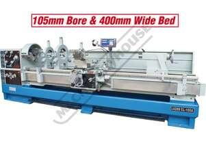 CL-100A Centre Lathe Ø660 x 3000mm Turning Capacity - Ø105mm Spindle Bore Includes Digital Readout