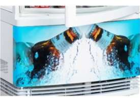 Bromic CT0080G4BC - Curved Glass LED - 80 Litre - picture2' - Click to enlarge