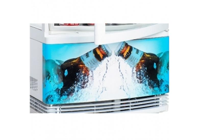 Bromic CT0080G4BC - Curved Glass LED - 80 Litre
