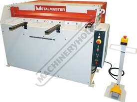 SG-420 Hydraulic Guillotine 1300 x 2mm Mild Steel Shearing Capacity Manual Backgauge - picture0' - Click to enlarge