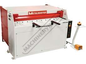 SG-420 Hydraulic Guillotine 1300 x 2mm Mild Steel Shearing Capacity Manual Backgauge - picture3' - Click to enlarge