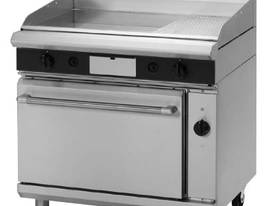 Electric 2/1 GN Griddle Convection Oven