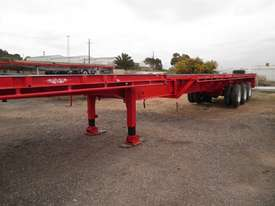 Flat Top Extendable Trailer - picture12' - Click to enlarge