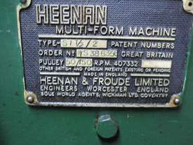 Heenan Multi-Form Machine - picture1' - Click to enlarge