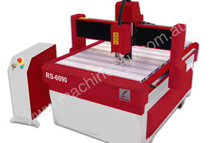 CNC ROUTING MACHINE 600 X 900MM W/2.2KW(3HP) AIR COOLED SPINDLE COMPLETE WITH STAND RS6090 NEW REDSA