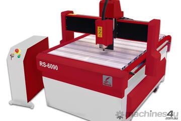 CNC ROUTING MACHINE 600 X 900MM W/2.2KW(3HP) AIR COOLED SPINDLE COMPLETE WITH STAND RS6090