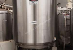 Stainless Steel Storage Tank - Capacity 3,500 Lt.
