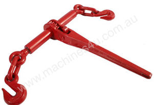 RATCHET LOAD BINDER 8/10MM HOOKS 4500KG