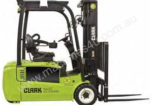 Clark GTX18 Battery Electric Forklift Space-Saver