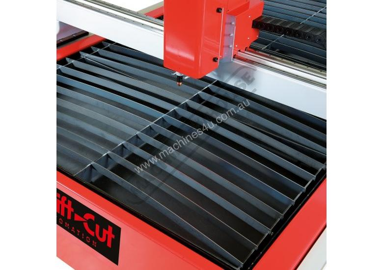 Swiftcut 2500WT MK4 CNC Plasma Cutting Table Water Tray System, Hypertherm Powermax 65 Cuts up to 16