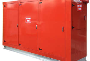Nische Fire Canopy Enclosed Fire Protection Pump