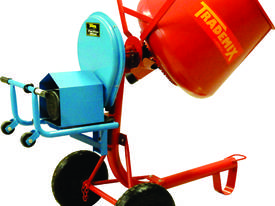 3.5cuft electric side tip concrete mixer
