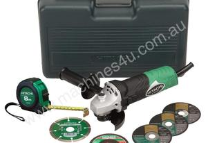 G10SR3-BP - 100MM (4'') ANGLE GRINDER KIT