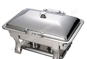 Safco CSHOB-3300 Shizell Oblong Chafer with Hinged Lid
