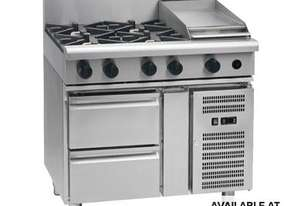 Waldorf 800 Series RN8603G-RB - 900mm Gas Cooktop `` Refrigerated Base
