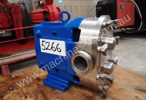 Stainless Steel Lobe Pump - In: 60mm Out: 60mm