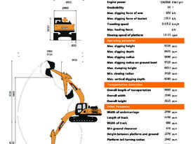 Yuchai 23ton Excavator - New Dash 9 Model now available - picture2' - Click to enlarge