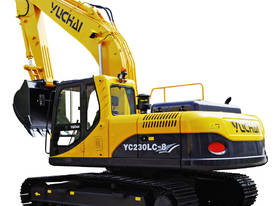 Yuchai YC230LC-8 Excavator with Cummins engine - picture1' - Click to enlarge