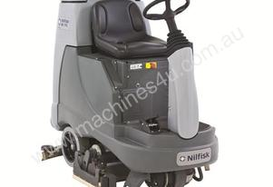 Nilfisk BR855 Ride on Battery powered Scrubber/Dr