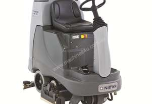 Nilfisk BR855 Ride on Battery powered Scrubber/Dryer