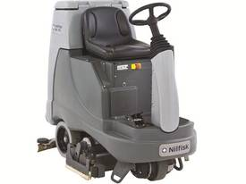 Nilfisk BR855 Ride on Battery powered Scrubber/Dryer - picture0' - Click to enlarge