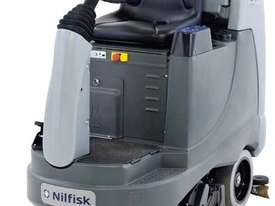 Nilfisk BR855 Ride on Battery powered Scrubber/Dryer - picture2' - Click to enlarge