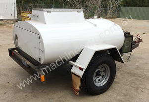 1000 Litre Solar Powered Fuel Trailer