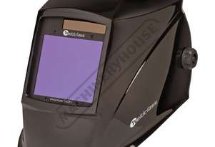 PROMAX 500 Auto Darken Welding Helmet - 5~8 / 9~13 Shade Suits Mig, Tig, Arc, Plasma, Oxy-Gas & Incl