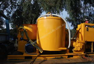 concrete / bentonite / mortar pump mixer