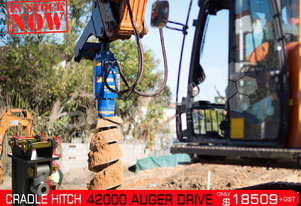 42000 MAX Auger Drive Unit. Suit 20 - 45 T Excavators ATTAGT