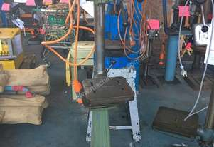 Waldown Drill Floor Mount Pedestal Drill 3 Phase 8SN Series III #4