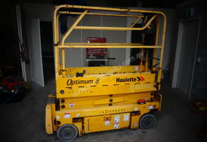 2008 Haulotte Optimum 8 / Narrow electric scissor lift