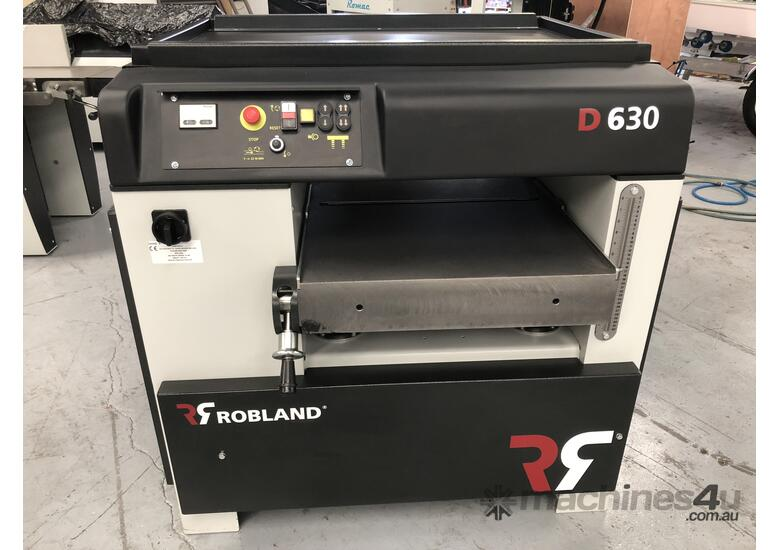 ROBLAND D630 HEAVY DUTY THICKNESSER