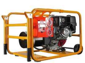 Powerlite Honda 4.5kVA Generator Worksite Approved - picture15' - Click to enlarge
