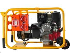 Powerlite Honda 4.5kVA Generator Worksite Approved - picture20' - Click to enlarge
