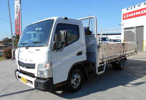 2013 Mitsubishi Fuso Canter 515/ Drop side alloy tray