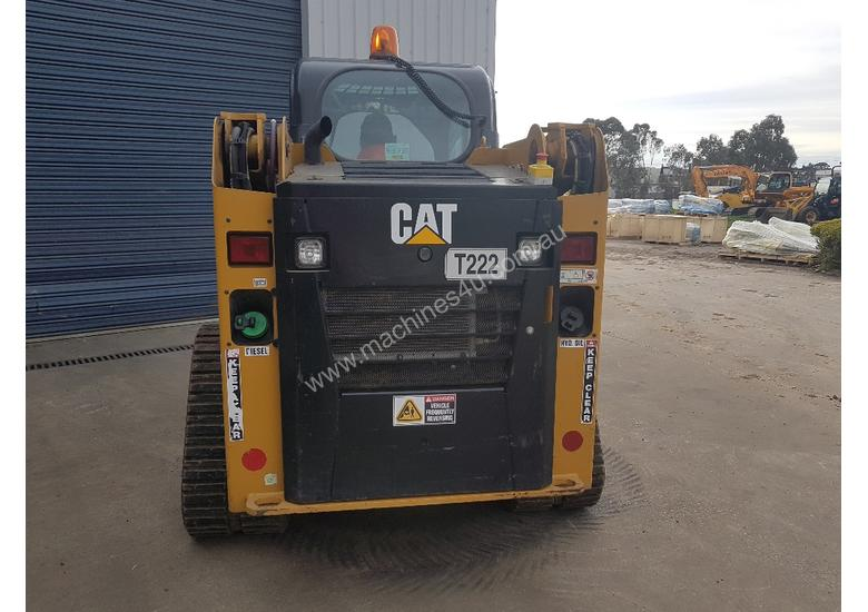 2016 cat 239d track loader with low 600 hrs