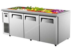 Skipio SSR18-3 Under Counter Salad Side Prep Table Triple Door