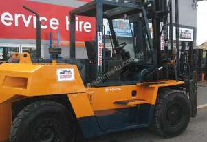 TOYOTA 10 TON FORKLIFT EMPTY CONTAINER HANDLER