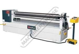 IRM1270x140 Motorised Plate Curving Rolls 1270 x 6mm Mild Steel Capacity Hardened Rolls, Motorised U