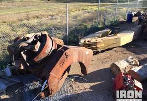 Logmate Excavator Boom Assembly & Grapple